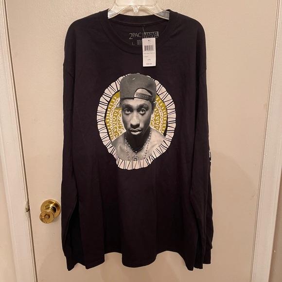2pac Marval Wakanda long sleeve shirt